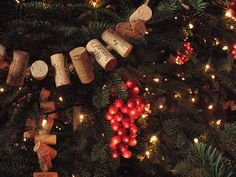 I love the idea of how much wine I'd have to drink to make this garland :-)