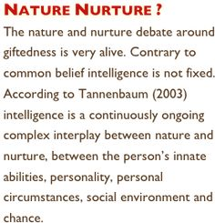 nurture vs nature essay conclusion