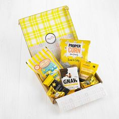 Thoughtful letterbox gifts that can be sent straight through the recipients post box safely and securely! Post Box Gifts, Letterbox Gifts, Snack Box, Paper Pumpkin, Gifts For Friends, June, Snacks, Appetizers, Treats