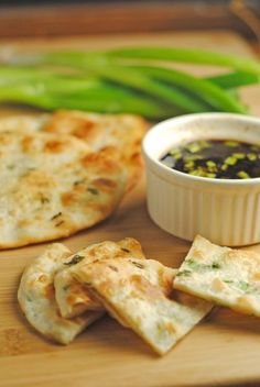 Scallion Pancakes AND Ponzu dipping sauce ...And How I Got Conned...   Juanita's Cocina