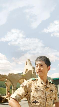 Descendants of the Sun-Kdrama_id-Song Most Handsome Korean Actors, Handsome Actors, Song Joong Ki Cute, Soon Joong Ki, Decendants Of The Sun, Sun Song, Songsong Couple, Song Daehan, Korean People