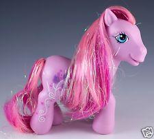 My Little Pony G3 Tulip Twinkle Cutie Cascade Ponies Pink MLP 2006