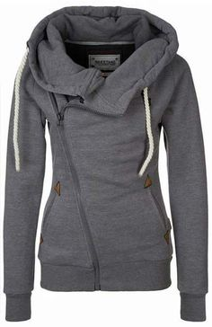 Cupshe Traveller Side Zipper Sweatshirt