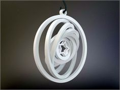Yet Another Gyroscopic Christmas Ornament by MarcoAlici.