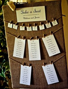 Wedding Magazine - 21 brilliant ideas for your wedding tableplan