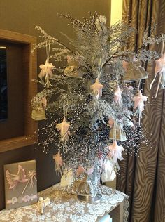 Büyüleyici bebek şekeri sunum ağacı, dilek ağacı, doğum organizasyonu