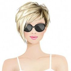 Another point of these new short hairstyles, is getting younger looks with style. Another point of these new short hairstyles, is getting younger looks with style. Another point of these new short hairstyles, is getting younger looks with style. Thin Hair Cuts, Short Thin Hair, Short Hair With Layers, Short Blonde, Short Bobs, Long Curly, New Short Hairstyles, Trending Hairstyles, Bob Hairstyles