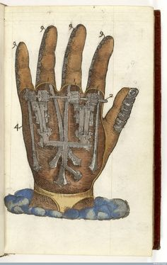 A mechanical hand. Wellcome Collection Image Library
