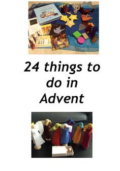 24 Things to do in Advent: Printable Booklet for Families