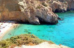 Tsigrado beach, Milos Island !!