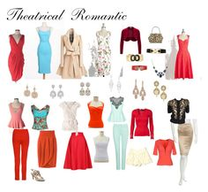 """""""Theatrical Romantic"""" by ithinklikeme ❤ liked on Polyvore featuring Relaxfeel, Boston Proper, Bettie Page, 1928, NYDJ, City Chic, Rosemunde, RED Valentino, Ella Moss and Just Cavalli"""