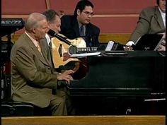 """Jimmy Swaggart sings, """"Precious Lord, Take My Hand"""" from his DVD entitled """"I've Got The Best Of The Trade"""". Written by Thomas A Dorsey. Sam Phillips, the rec. Christian Videos, Christian Songs, Piano Music, Music Tv, Michael Jackson, Sam Phillips, Praise And Worship Music, Southern Gospel Music, Jerry Lee Lewis"""