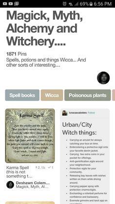 Magick, Myth, Alchemy and Witchery Board with 1,871 Pins ... ... ... http://pin.it/zA2n1ZU
