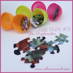 Egg Hunt #3: The Puzzlemaker.  One of 6 different egg hunts for your next family fun night.