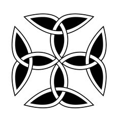 Carolingian Cross - Celtic Symbols and Meanings