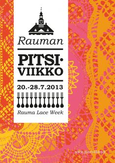 Rauma Lace Week Wooden Architecture, Poster Prints, Posters, Finland, The Neighbourhood, Lace, Graphics, The Neighborhood, Graphic Design