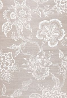 Celerie Kemble for Schumacher Hothouse Flowers Sisal Haze