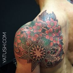 Mandala tattoo @yatush #amsterdam#ansterdaminkandart #yatush