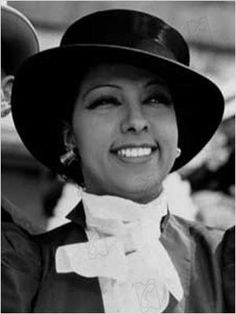 Joséphine Baker was the first black woman to star in a major motion picture, Zouzou (1934), and to become a world-famous entertainer. Her status allowed the perfect cover as a spy for the French Resistance during World War II for which she received the French military honor, the Croix de guerre and was made a Chevalier of the Légion d'honneur by General Charles de Gaulle. In the U.S. she refused to perform to segregated audiences and was active in the Civil Rights Movement