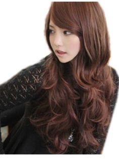 Amazon.com: long curly wig dark brown wig cosply wig rapunzel wig cute and sweet style hair for party and dating: Beauty