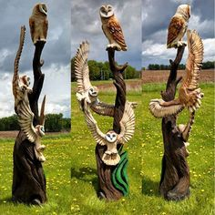 "I Love Woodworking Made by ""From the Forest Chainsaw Carving"""