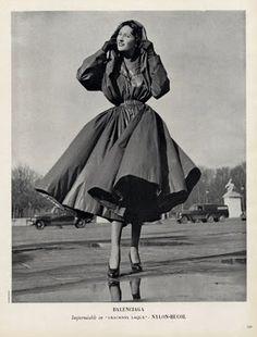 Vintage Balenciaga Trench with Hood.