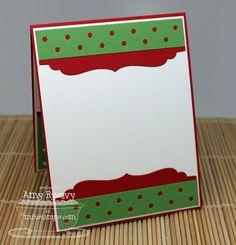 Grand-Holiday-Greetings-Card-Inside-by-AmyR; nice way to make the inside of a Christmas card