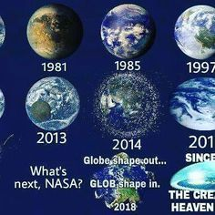 """""""If the Government or NASA had said to you that the Earth is stationary, imagine that. And then imagine we are trying to convince people that 'no, no it's not stationary, it's moving forward at 32 times rifle bullet speed and spinning at 1,000 miles per hour.' We would be laughed at! We would have so many people telling us 'you are crazy, the Earth is not moving!' We would be ridiculed for having no scientific backing for this convoluted moving Earth theory. And not only that but then people…"""