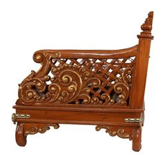 India Traditional Carving Wooden Indoor Seater - 120414_3007 - Seater Door Design, House Design, Temple Design For Home, Carving Designs, Design Reference, Outdoor Furniture, Outdoor Decor, Wood Carving, Woods