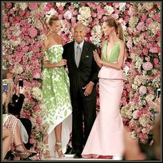 Oscar de la Renta - A Feathered Farewell