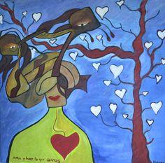 el árbol y la mujer