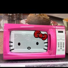 Hello Kitty Microwave from Target - adorable!