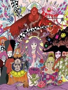 Belladonna of Sadness - Artist: Jorge 'Monstro' Garcia - you can follow Jorge on Instagram  @MonstroGarcia to see more of his work.