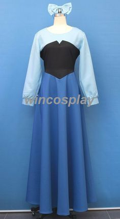 Disney  The Little Mermaid  Ariel Cosplay Costume by wincosplay, $79.00