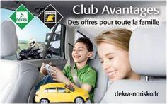 """Une initiative inédite des enseignes du réseau DEKRA AUTOMOTIVE : le """"Club Avantages"""", avec des bons plans auto & loisirs pour toute la famille... http://sco.lt/6pSB4T"""