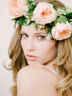 by Squaresville Studios - Romantic Flower Crown ~