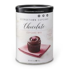 Williams Sonoma Georgetown Cupcake Mix, Chocolate #williamssonoma
