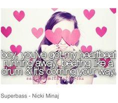 Nicki Minaj - Super Bass #lyrics