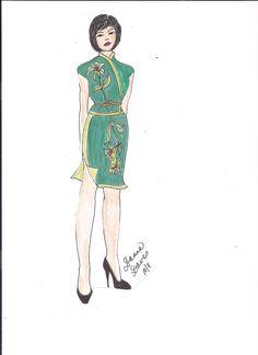 Green Qipao