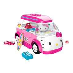 Caravana Mega Bloks Hello Kitty 75 piezas