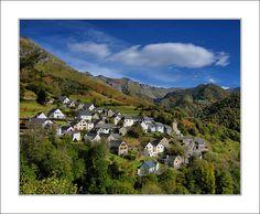 Le village d'Aydius - Vallée d'Aspe, Pyrénées Atlantique