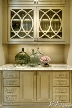 Another great (and maybe more discrete) possible bar area or butlers pantry