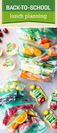 Lunches can be a headache—especially during back-to-school season. But, not anymore thanks to this Self-Serve Lunch Box Packing Hack! Check out this organization idea for helping your kiddos pack their own lunch. With help from the three new flavors of the Mott's 100% Juice Pouches—Apple, Apple White Grape, and Apple Mango—you can be sure that they're enjoying a good-for-you meal that's delicious as well! Pick up everything you need to stay stocked during this busy season at your local…