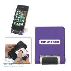 Phone Mate - phone stand with screen cleaner #mobiletech