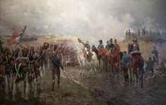 Napoleon's last gamble at Waterloo- by Ernest Crofts