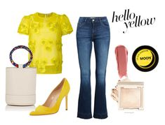 Designer Clothes, Shoes & Bags for Women Yellow Moon, Manolo Blahnik, Denim, Polyvore, Clothes, Fashion, Outfits, Moda, Clothing