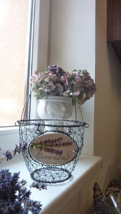 levandulový košíček