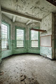 Day room in Central State Hospital - Milledgeville, Georgia.