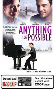ZOOP Augments Movie 'ANYTHING IS POSSIBLE (2013)' #Movie #Poster #MoviePoster #Augmented Reality #AR #QR #Scan #ANYTHINGISPOSSIBLE #HOLLYWOOD #ZOOP