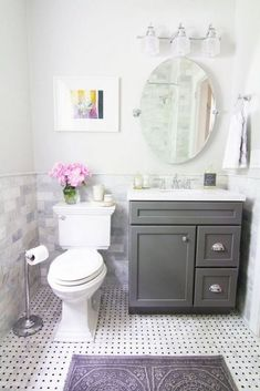 Cool small master bathroom remodel ideas (26)